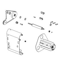 Намотчик этикеток в сборе  (Kit Media Rewind Option for 203 and 300 dpi) |  PN: P1008483