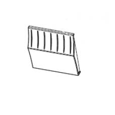 Панель передняя нижняя (Front Lower Panels (includes tear and peel panels) |  PN: P1058930-006