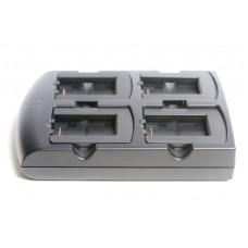 Зарядное устройство четырехслотовое для аккумуляторных батарей |  PN: SACX000-4000C