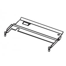 Пластина прижимная (направляющая) бумажной ленты с отражателем датчика риббона (Upper Media Guide Plate 105SL, 140Xi) |  PN: P1006112
