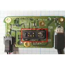 Контактная группа / коннектор питания зарядно-коммуникационного устройства |  PN: