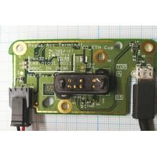 Плата управления коммуникационная в сборе с коннектором питания зарядно-коммуникационного устройства    PN: 148.01001.0011