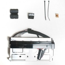 Механизм крепления термоголовки (Kit Thermal Transfer Print Mechanism ZT420 (includes ribbon sensor with cable, printhead cables, ground contact and magnets)) |  PN: P1058930-017